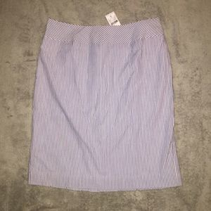 Casual Corner Pleated Skirt NWT